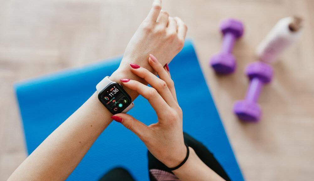 Smartwatch voor gezonde levensstijl