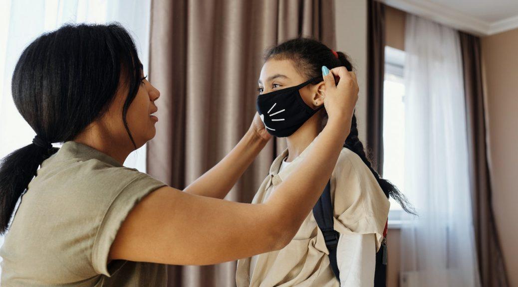 veilig wasbaar mondkapje wassen